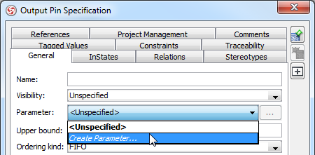 Create Exception Pin in UML Activity Diagram - Visual ...
