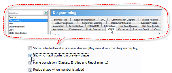 How To Make Html Content Rendered In Preview Shape Visual Paradigm