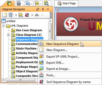 Share models between class diagram and sequence diagram visual create a sequence diagram through diagram navigator ccuart Images