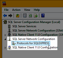 Select Network Configuration