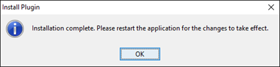 Restart VP application