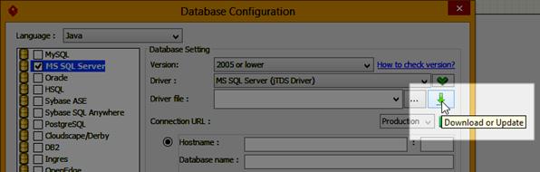 Download jDTS driver file