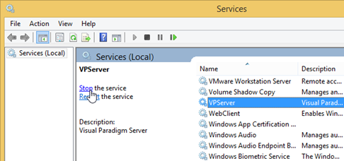 How to Reset Admin Password for VP Server - Visual Paradigm Know-how