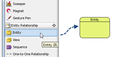 05 - drag an entity onto diagram