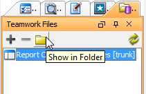 Open the folder of Teamwork Files