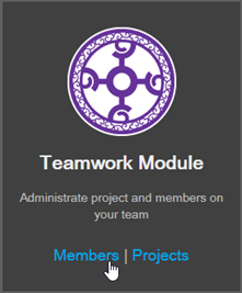 Open Teamwork Server Users Page