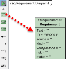 Create dummy requirement model.