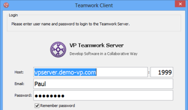 Login to Teamwork Server with Active Directory user account