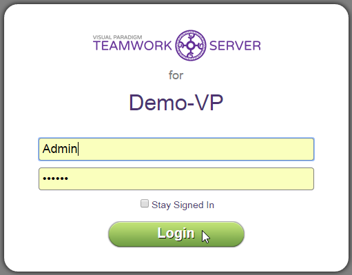Login to server as administrator