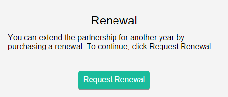 Request renewal