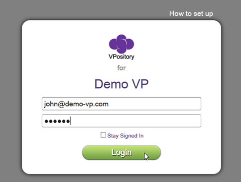 Login to VPository