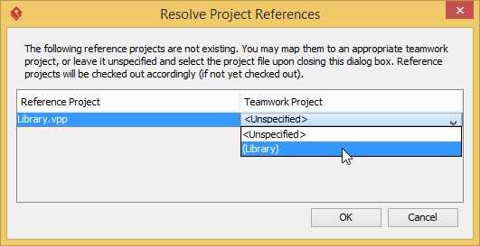 Resolve reference project