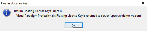 Exported key being returned back to server