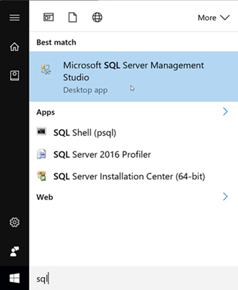 Launch SQL Server Configuration Manager
