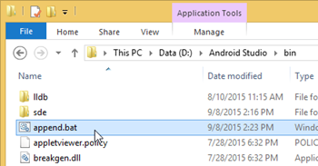 Running Visual Paradigm in Android Studio on MS Windows - Visual ...