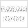 How to Display a Parameter in Class without Showing its Name?