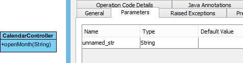 Unnamed parameter
