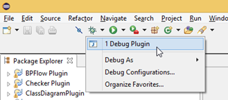 Launch VP from Eclipse to debug your plugin