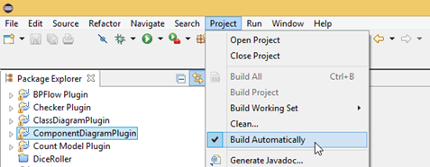 Auto build your project to allow your changes reflect in VP immediately