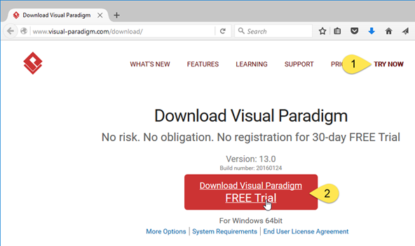 How to upgrade Visual Paradigm with old JRE 1 6 to new version