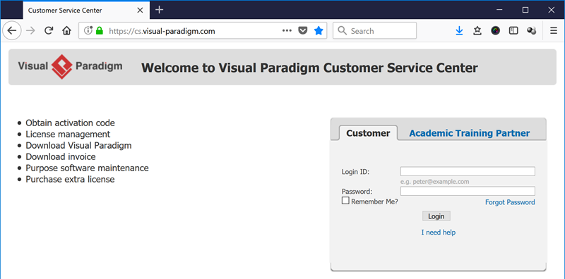 How to upgrade your Visual Paradigm Desktop client (perpetual