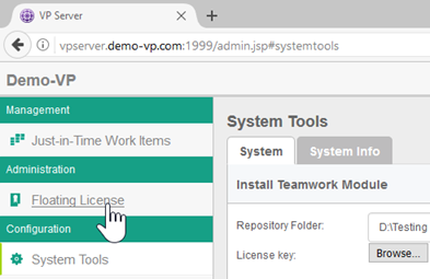 Setting up Floating License and License server - Visual Paradigm