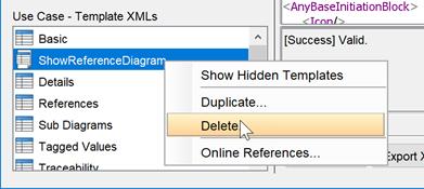 Delete custom Doc  Composer Templates - Visual Paradigm Know-how