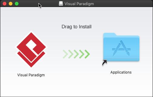 Unable to install Visual Paradigm on Mac OS X 10 14 Mojave