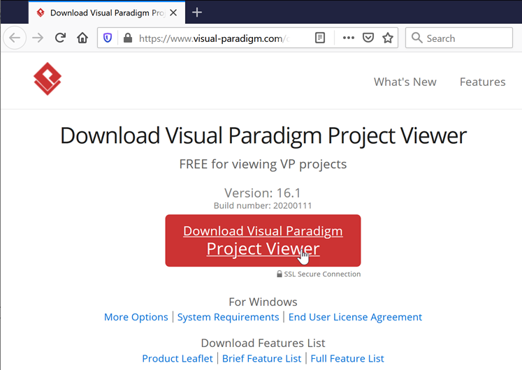 Download Visual Paradigm Project Viewer